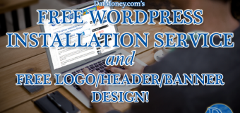 FREE WordPress Installation Service AND FREE Logo/Header/Banner Design!