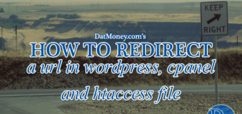 How To Redirect A URL In WordPress, Cpanel And Htaccess File