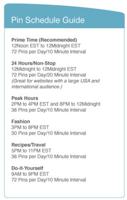 TrafficWonker Pin Scheduler